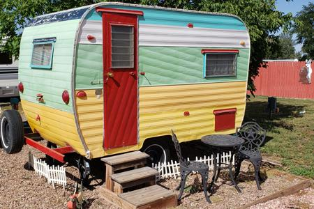 10 Ft. Camper (Baby) Rental, Colorado