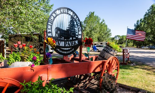 Make Reservation at Circle The Wagons RV Park in La Veta, Colorado
