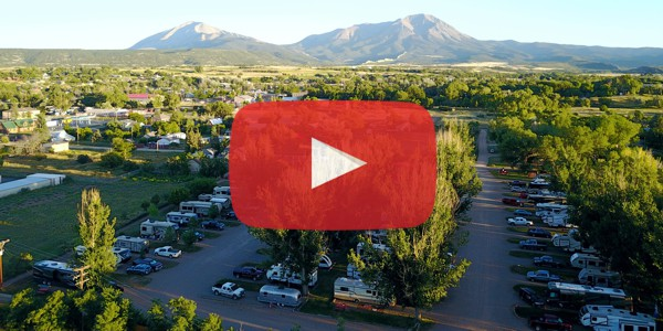 Bird's Eye View of the RV-PARK in La Veta, Colorado