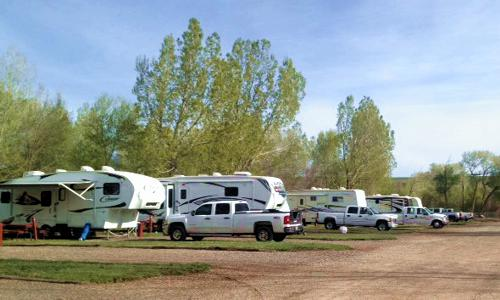 Rates for Circle The Wagons RV Park in La Veta, Colorado