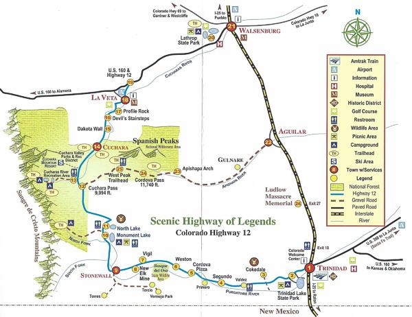 Highway of Legends at StoneWall Lodge in Weston, Colorado